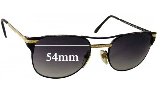 Sunglass Fix Sunglass Replacement Lenses for Jonathan Sceats Macro - 54mm Wide