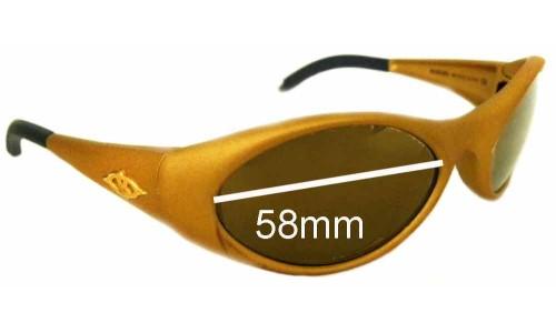 Sunglass Fix Sunglass Replacement Lenses for Killer Loop W2505 Northside - 58mm Wide