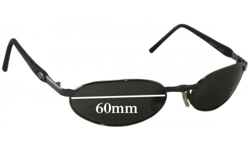 Sunglass Fix Sunglass Replacement Lenses for Killer Loop K1156 Payback - 60mm Wide