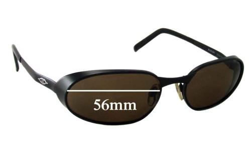 Sunglass Fix Sunglass Replacement Lenses for Killer Loop Spoiler - 56mm Wide