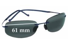 Sunglass Fix Sunglass Replacement Lenses for Maui Jim Honolua Bay MJ516 - 61mm Wide