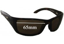 Sunglass Fix Sunglass Replacement Lenses for Maui Jim Canoe MJ208 - 65mm Wide
