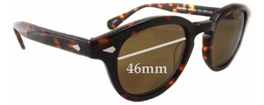 d29a76d4899 Sunglass Fix Sunglass Replacement Lenses for Moscot Lemtosh - 46mm wide