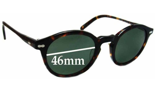 bf3195302f Moscot Miltzen Sunglass Replacement Lenses - 46mm wide