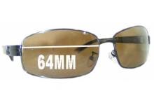 Sunglass Fix Sunglass Replacement Lenses for OSK 8155 - 64mm Wide