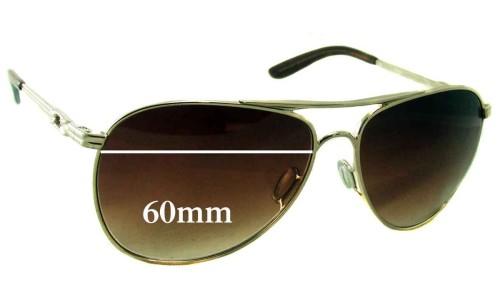 Sunglass Fix Sunglass Replacement Lenses for Oakley Daisy Chain 4062 - 60mm Wide