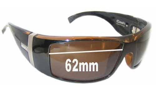Sunglass Fix Sunglass Replacement Lenses for Otis Cash - 62mm Wide