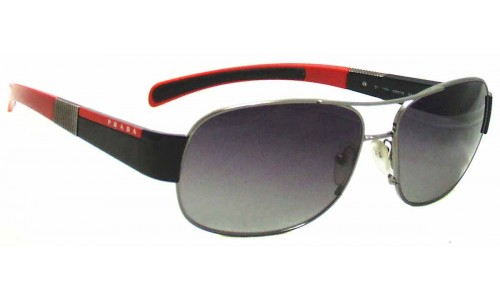 Sunglass Fix Sunglass Replacement Lenses for Prada SPS56H - 59mm Wide