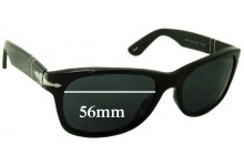 Sunglass Fix Sunglass Replacement Lenses for Persol 2953-S - 56mm Wide