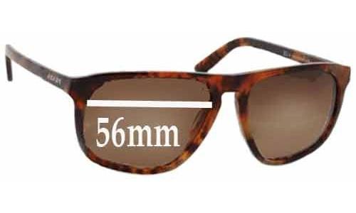 Sunglass Fix Sunglass Replacement Lenses for Prada SPR22L - 56mm wide lens