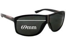 Sunglass Fix Sunglass Replacement Lenses for Prada SPS08L - 69mm Wide