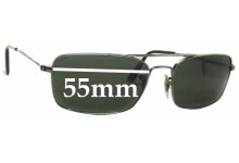Sunglass Fix Sunglass Replacement Lenses for Ray Ban RB3309 - 55mm Wide