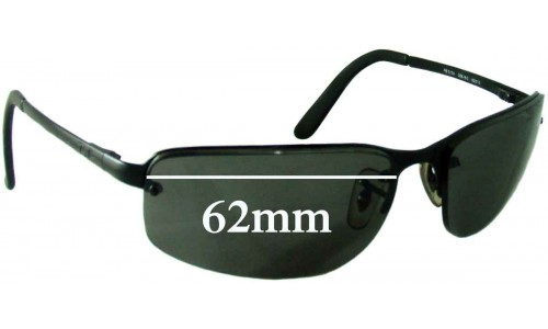 Sunglass Fix Sunglass Replacement Lenses for Ray Ban RB3239 - 62mm wide