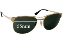 Sunglass Fix Sunglass Replacement Lenses for Ray Ban RB3429 Signet - 55mm Wide