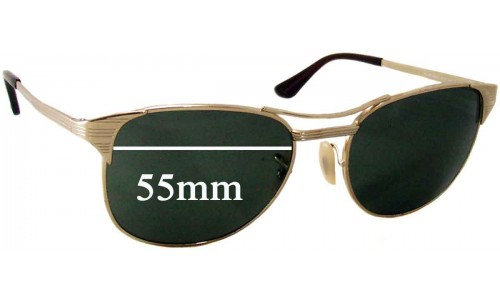 Sunglass Fix Sunglass Replacement Lenses for Ray Ban RB3429 Signet - 55mm wide lenses