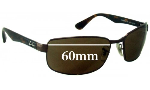 Sunglass Fix Sunglass Replacement Lenses for Ray Ban RB3478 - 60mm Wide