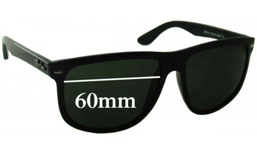 Sunglass Fix Sunglass Replacement Lenses for Ray Ban RB4147 60mm Wide Lenses