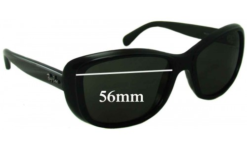 Sunglass Fix Sunglass Replacement Lenses for Ray Ban RB4174 - 56mm wide