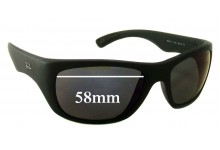 Sunglass Fix Sunglass Replacement Lenses for Ray Ban RB4177 - 58mm Wide