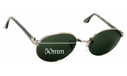 Sunglass Fix Sunglass Replacement Lenses for Ray Ban B&L W2187 - 50mm Wide