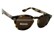 Sunglass Fix Sunglass Replacement Lenses for Retro Peepers J.D MID - 46mm Wide