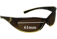 Sunglass Fix Sunglass Replacement Lenses for Rip Curl Winki - 61mm Wide