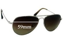 Sunglass Fix Sunglass Replacement Lenses for Salt Vargas - 59mm Wide