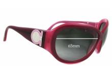 Sunglass Fix Sunglass Replacement Lenses for Salvatore Ferragamo 2095 - 65mm Wide