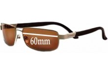 Sunglass Fix Sunglass Replacement Lenses for Serengeti Paolo - 60mm Wide