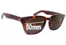Sunglass Fix Sunglass Replacement Lenses for Shuron Sidewinder - 50mm Wide