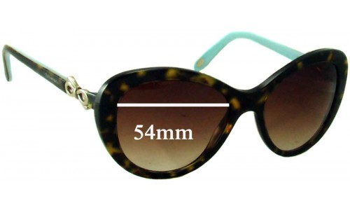 Sunglass Fix Sunglass Replacement Lenses for Tiffany & Co TF 4059 - 54mm Wide