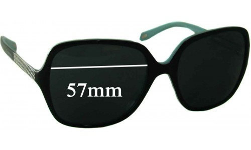 Sunglass Fix Sunglass Replacement Lenses for Tiffany & Co TF 4072-B - 57mm Wide