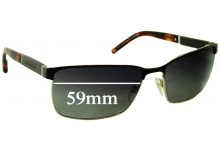 Sunglass Fix Sunglass Replacement Lenses for Tommy Hilfiger / Specsavers TH Sun Rx 13 - 59mm Wide