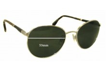 Sunglass Fix Sunglass Replacement Lenses for Urbano Todzi 83671 - 53mm Wide