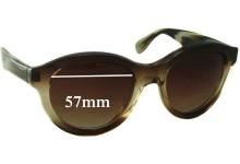 Sunglass Fix Sunglass Replacement Lenses for Vera Wang Vespera - 57mm Wide