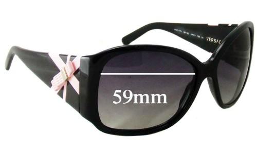 Sunglass Fix Sunglass Replacement Lenses for Versace MOD 4171 - 59mm Wide