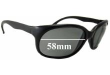 Sunglass Fix Sunglass Replacement Lenses for Vuarnet Pouilloux Unknown Model - 58mm Wide x 42mm Tall