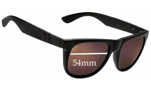 Sunglass Fix Sunglass Replacement Lenses for Anon Hollyweird - 54mm Wide