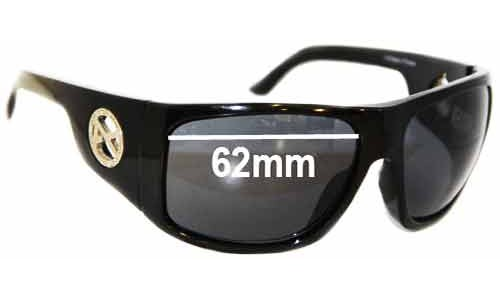 Sunglass Fix Sunglass Replacement Lenses for Anon Comrade - 62mm Wide