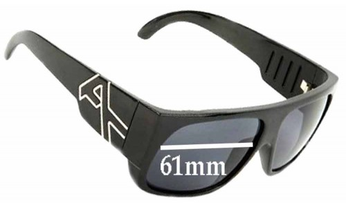 Sunglass Fix Sunglass Replacement Lenses for Anon Hombre - 61mm Wide