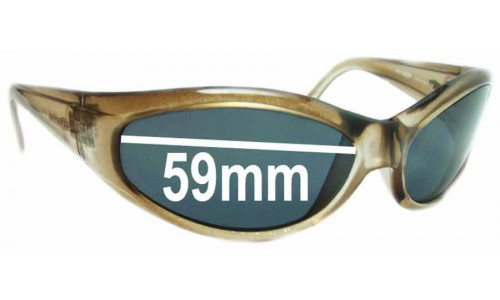 Sunglass Fix Sunglass Replacement Lenses for Arnette Deuce AN212 - 59mm Wide