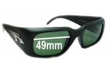 Sunglass Fix Sunglass Replacement Lenses for Arnette Dirty Harry AN215 - 49mm Wide