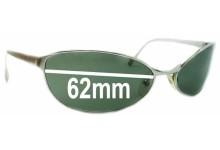 Sunglass Fix Sunglass Replacement Lenses for Arnette Steel Swinger AN3002 - 62mm Wide