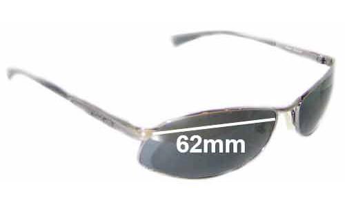 Sunglass Fix Sunglass Replacement Lenses for Arnette AN3036 Metal Frame - 62mm Wide