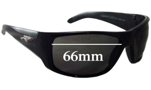 Sunglass Fix Sunglass Replacement Lenses for Arnette La Pistola AN4179 - 66mm Wide
