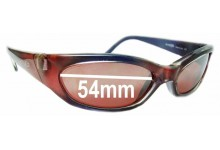 Sunglass Fix Sunglass Replacement Lenses for Arnette Nomad AN127 - 54mm Wide