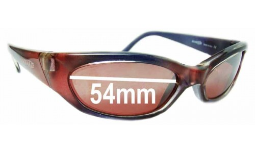 Sunglass Fix Sunglass Replacement Lenses for Arnette Nomad AN127 - 54mm Wide