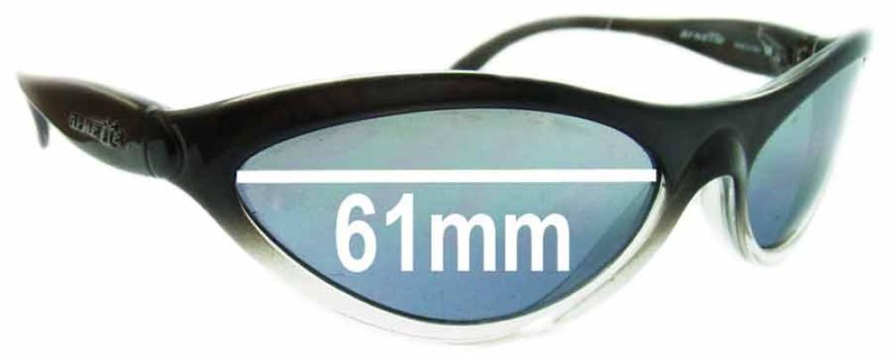 Sunglass Fix Sunglass Replacement Lenses for Arnette Hawk AN203 - 61mm Wide