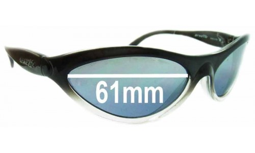 Sunglass Fix Sunglass Replacement Lenses for Arnette AN203 Hawk - 61mm Wide