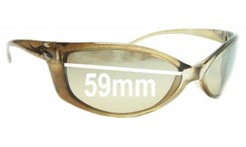 Sunglass Fix Sunglass Replacement Lenses for Arnette Mini Swinger AN4016 - 59mm Wide